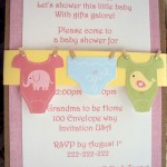 Baby Shower Invitations by Adriana