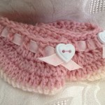 Baby Girl Booties by Vicky's Handcrafted Designs