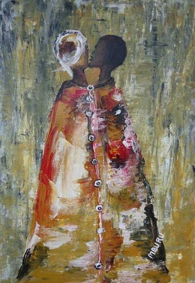 Painting by Peter Nyanjui Mburu
