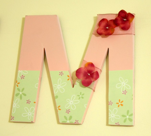 Personalized Wall Décor ~ Name or Initials | Cotton Ridge Create!