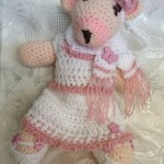 Crocheted Bear by Vicky's Handcrafted Designs