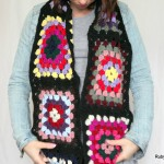 Granny Crochet Loop Scarf by Maya