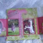 Little Angel Scrapbooking Page by Alison Harris