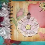 Mini Scrapbook Album by Alison Harris