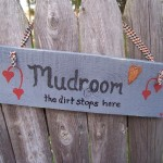 Mudroom Sign by MonkMama