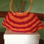 Crocheted Handbag by Vicky's Handcrafted Designs