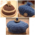 Crocheted Hats by Vicky's Handcrafted Designs