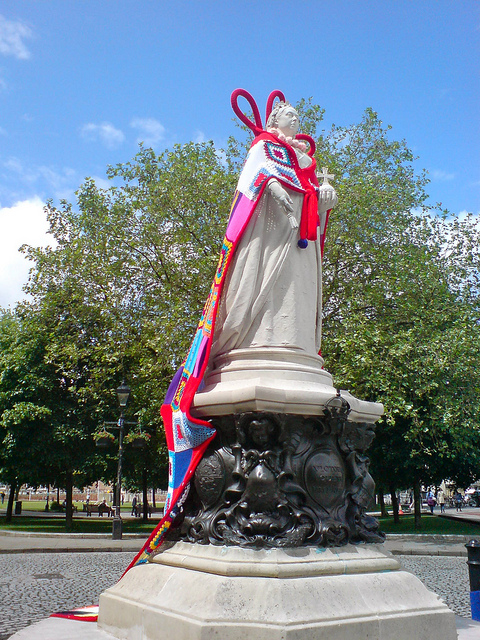 Queen Victoria Redressed by Thomas Guest