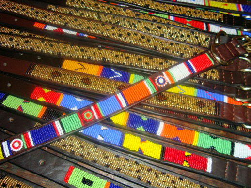 Beaded Dog Collars by Judy Oduori