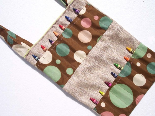 Crayon Roll Bag from Sapucha 2