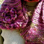 Knit Wool Scarf by Maria Stechschulte