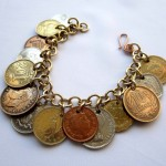 Authentic coins bracelet by Hortensia Gibbs