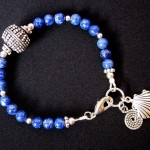 Lapislazuli Bracelet by Hortensia Gibbs
