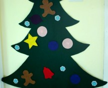 Toddler Preschool Felt Christmas Tree
