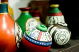 Pottery Vessels Colours of India