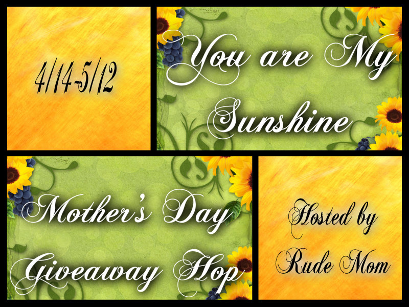You Are My Sunschine Giveaway Hop