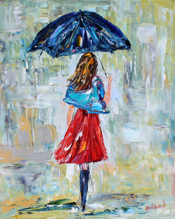 Rain Dance Three by Karen Tarlton
