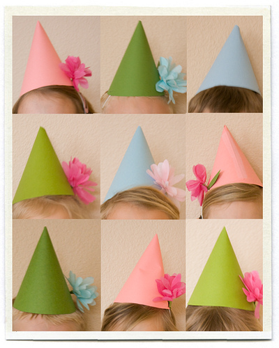 Party Hats by love..Maegan on flickr