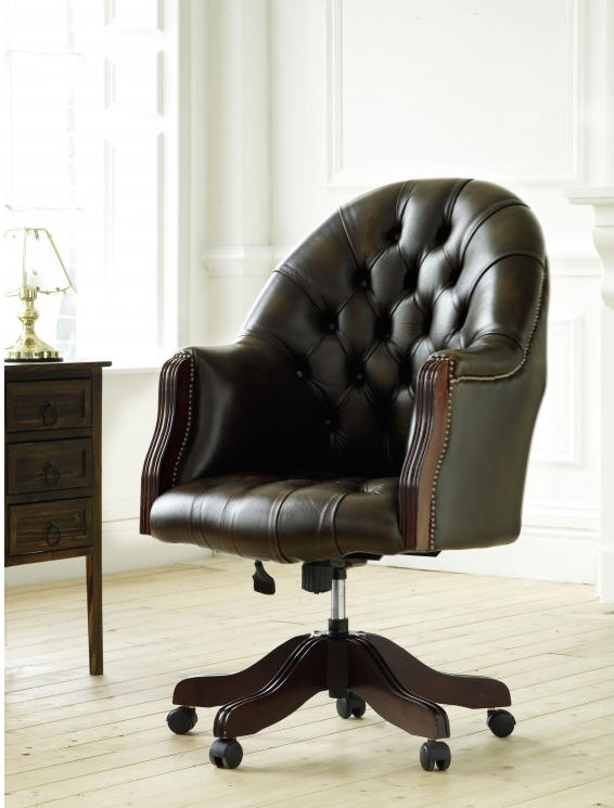 Chesterfield Desk Chair