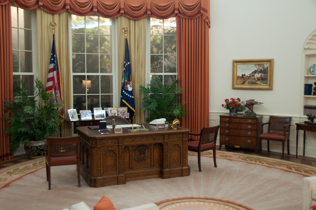 Oval Office by Herkie
