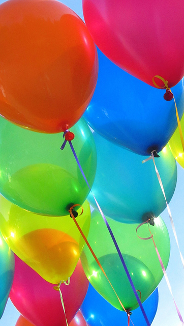Balloons by redfern.biz on flickr