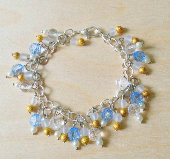 Silver Charm Bracelet by Frederica Dixon
