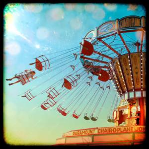 Modern Vintage, Fairground by Ros Berryman