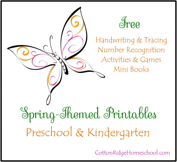 Spring Themed Printables Button