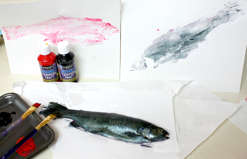 Gyotaku Art Fish Prints Japan Lesson