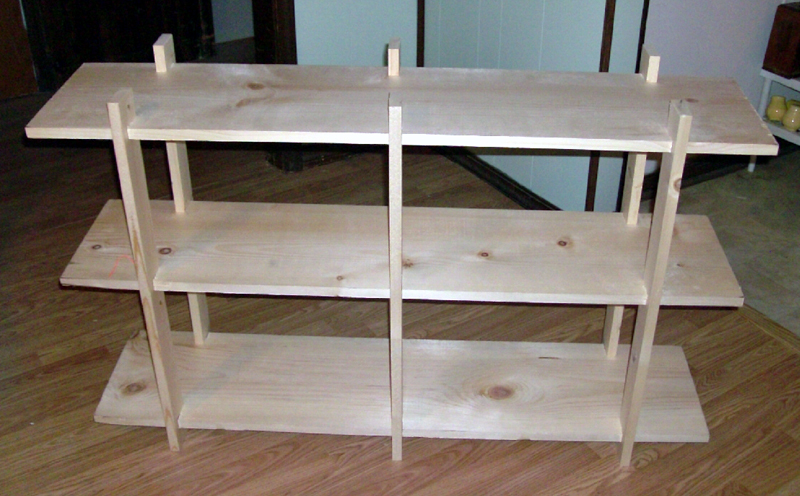 Super Table Top Shelf Display for Art & Craft Shows by Timothy Morefield  RH49