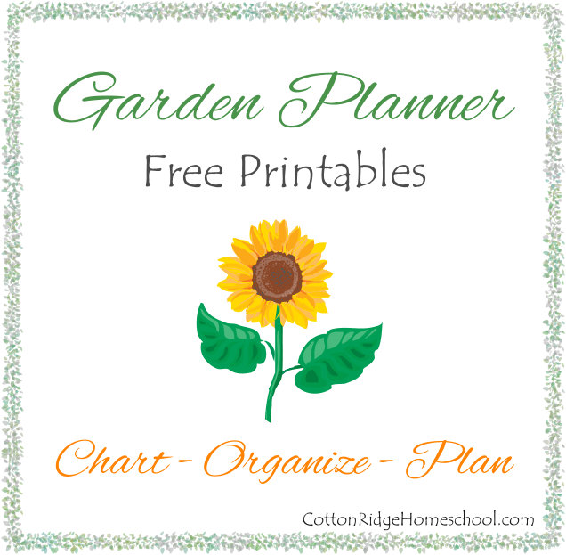 This is a picture of Free Printable Garden Planner throughout excel